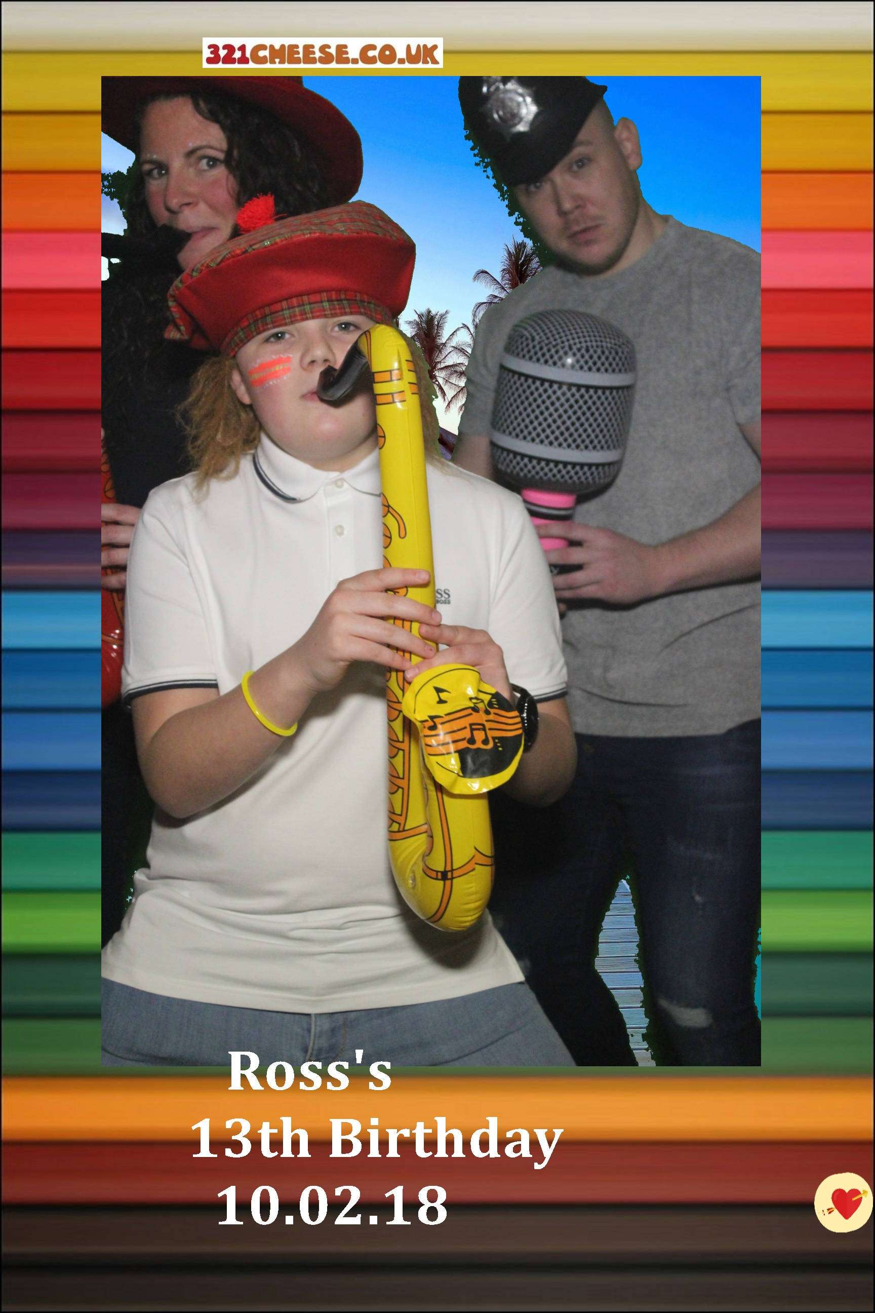Ross's 13th with Green screen