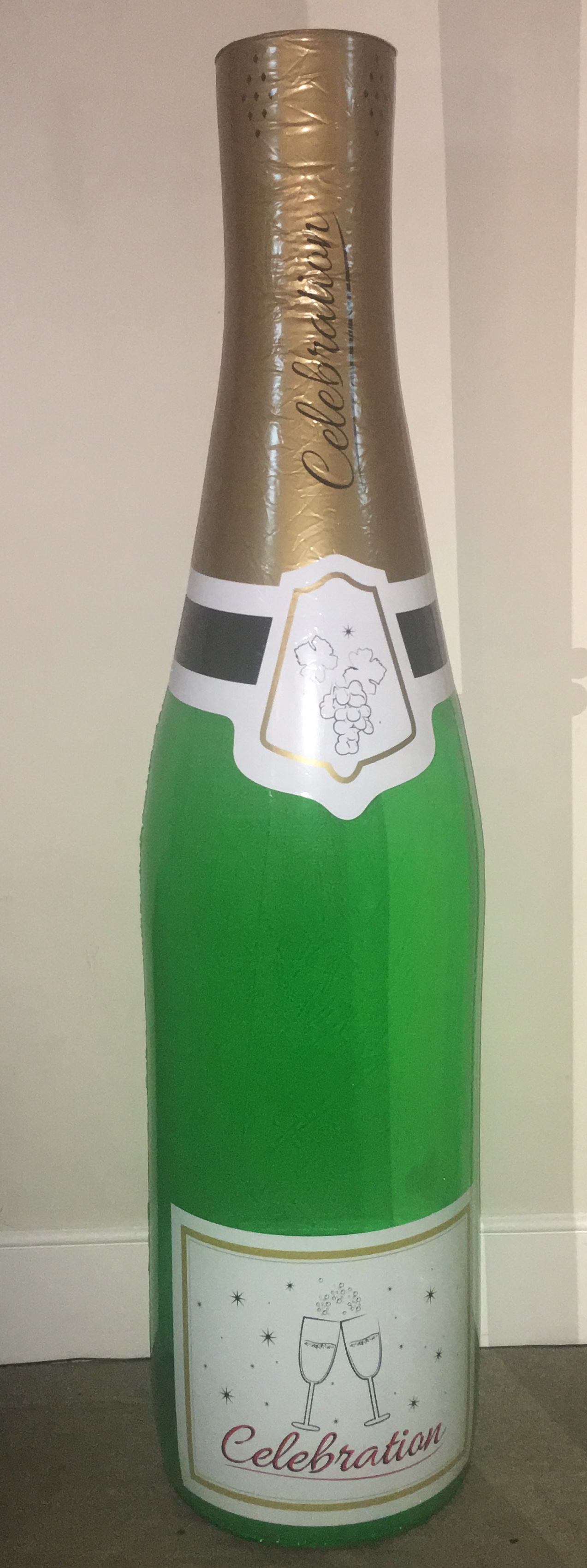 Giant 6 Foot Inflatable Champagne Bottle