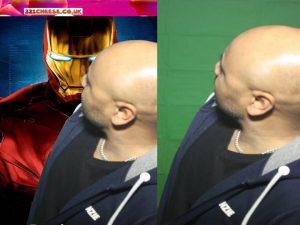 Iron Man - Greenscreen