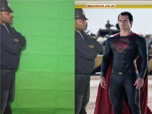 Superman - Greenscreen