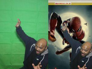 Spiderman - Greenscreen