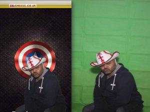 Captain America Sheild - Greenscreen